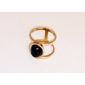 Δαχτυλίδι με στρογγυλή πέτρα